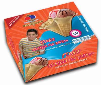 FIORE ICE CREAM CONES